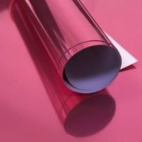 Пленка термотрансферная металлик (розовая) 25х25 см