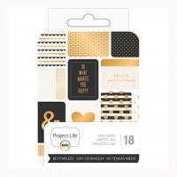 Набор карточек Be Fearless для Project Life 18 шт