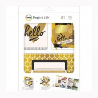 Набор карточек и чипборда Project Life Value Kit Be Fearless